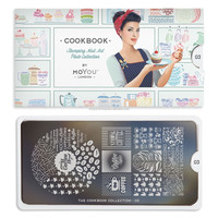 MoYou-London Stamping Nail Art Cook Book Collection Image Plate