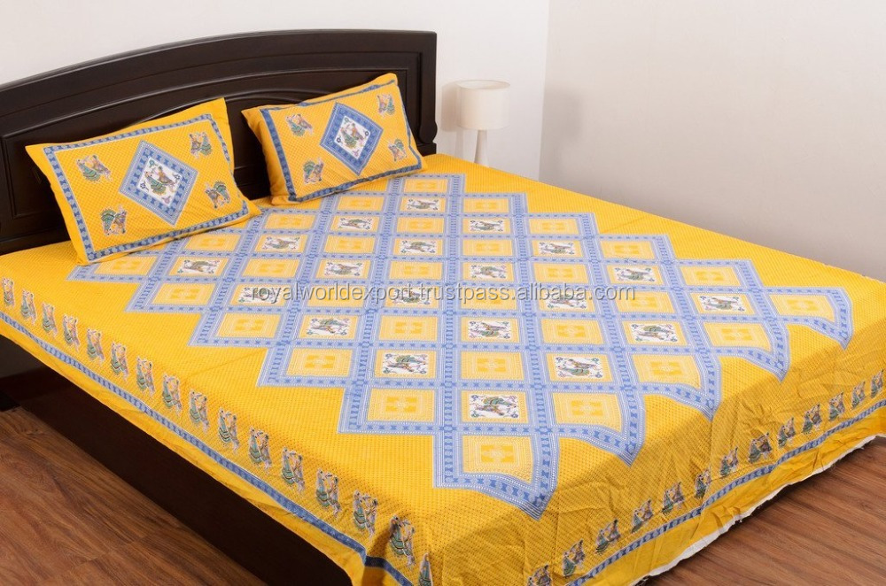 bright-coloured cartoon printing100%cotton twill fabric bedding set /bed sheet/duvet cover/pillow