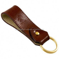 Cheap Price Blank Promotional Genuine Leather Key Chain