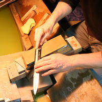 Japanese Kitchen knife made in Sakai Osaka global Knife for wholesale
