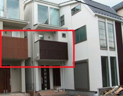 long lasting and High grade wood looking metal lattice panels with high weather resistance made in Japan