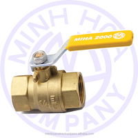 BRASS BALL VALVE FOR GAS DN 8