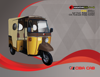 Auto Rickshaw Ciba Executive