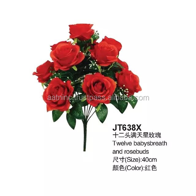Wedding decortion artificial flower