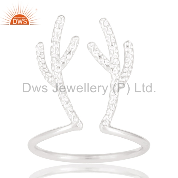 New Designer Girls Party Rings Manufacturers of 925 Sterling Fine Silver Rings Handmade Plain Silver Jewelry