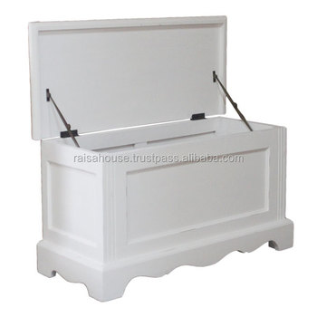 Indonesia Shabby Chic Furniture - Blanket box Shabby Furniture