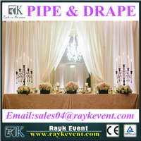 High quality wholesale pipe and drape backdrop panels wedding pipe and drape for sale