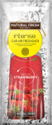 NATURAL FRESH INTENSE Cellulose car air fresheners