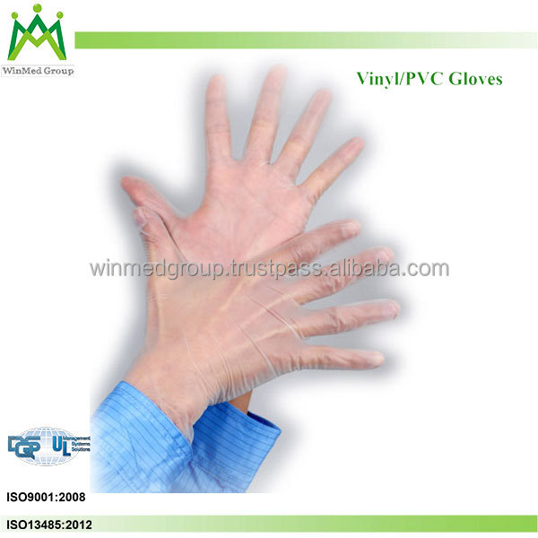 Chinese Big Latex/nitrile/vinyle Exam Glove Manufacturer