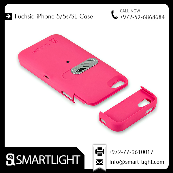 Custom Design Fuchsia Lighter Case for IPhone 5/5s Avaialble at Reasonable Cost