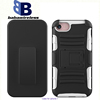 Phone Cover +SiliconCases For iPhone 7 holster, Belt Clip Holster Combo Cases