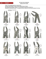 Veterinary Dental Extracting Forceps/Pliers Made In China