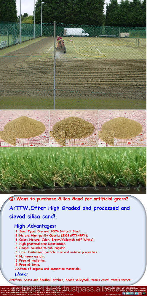 Sand Filled Artificial Sports grass