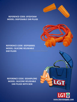 LGT SAFETY EAR PLUGS