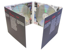 DVD movie replication and 8 panel DVD digipak