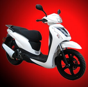 (New Wind) 2017 NEW Gas Scooter for sale Low Cost 16inch Tire Gas Scooter Moped EEC 125cc (PEDA MOTOR)