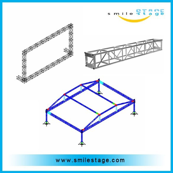 shenzhen new type aluminum truss roof with tent for outdoor use