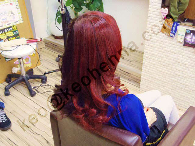 Red Natural Hair Dye Powder