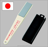 Garden tool sharpener, for pruners, shears, easy to use, made in Japan