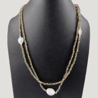 Exclusive Sale !! Multi Stones 925 Sterling Silver Necklace, Semi Precious Stone Necklace