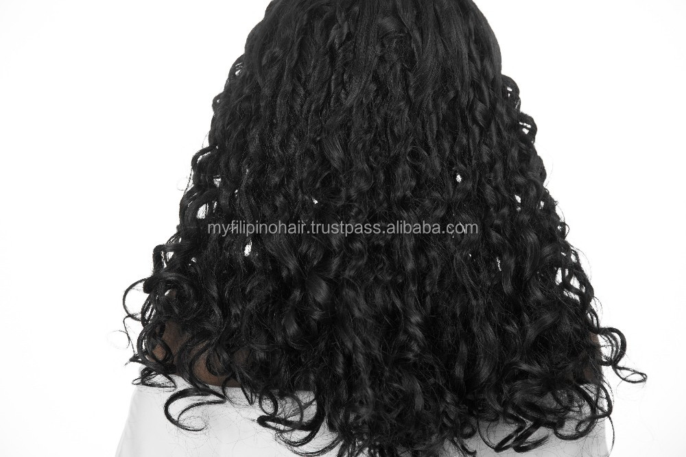 El Nido Curl Machine Weft Hair Extensions myFilipinohair