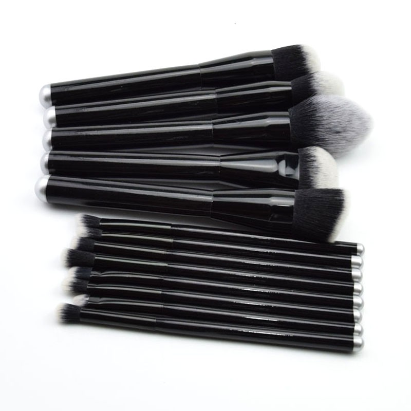 13pcs high quality professional makeup brushes set cosmetic brush kit