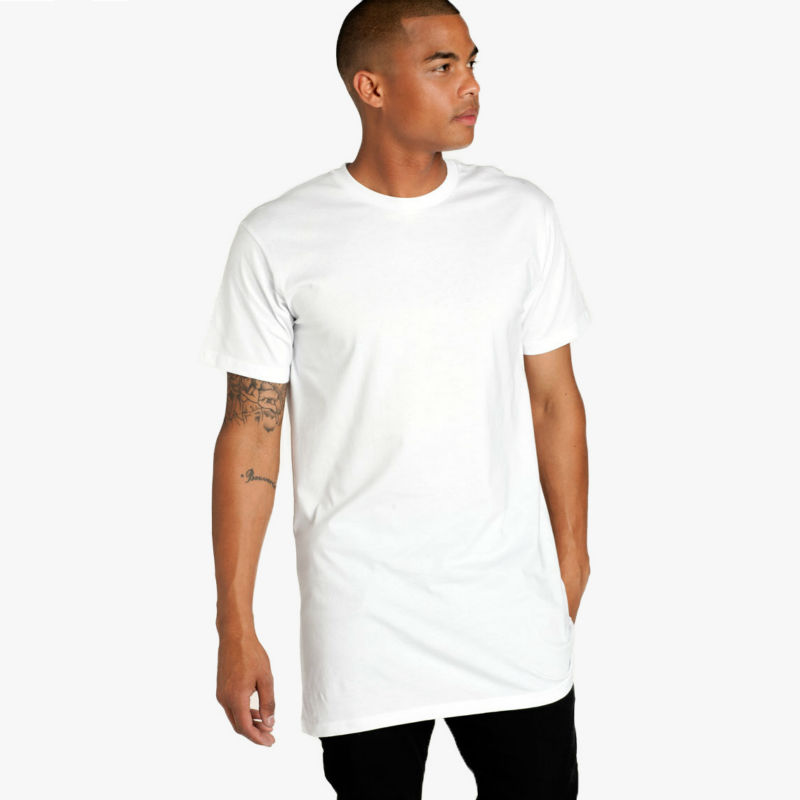 White Factory mens Cotton No Label Blank Fitted Cheap Plain T Shirt plain Wholesale 2016