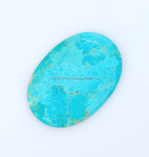 35X50 mm 100% Natural Mohave Turquoise Oval Shape Loose Gemstone