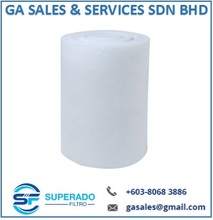 SF305 SuperRoll, Polyester Primary Washable Air Filter Media Roll Malaysia, EU4, Merv9, F4, Arrestance 92%