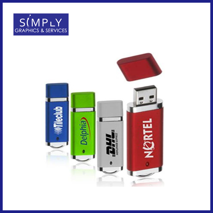 Deluxe Rectangular shaped USB Flash Drive