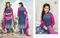 Party Wear Cambric Cotton Printed Indian Traditional Wear Casual Wear Salwar Kameez