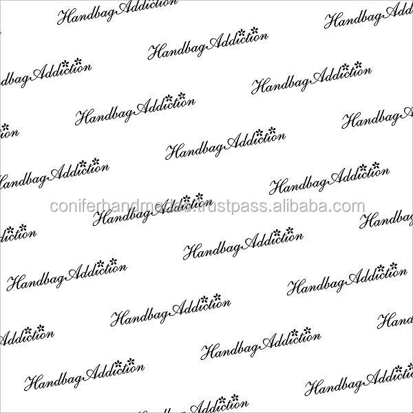 Gift Wrapping Paper with Clients Logo Design