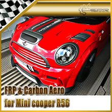 EPR - Carbon Fiber / FRP Fiber Glass For Mini Cooper R56 11y~ D-AG Style Bonnet Hood