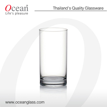 Fin Line Hi Ball Glass - Ocean Glass Press and blow popular drinking glass fancy tumbler