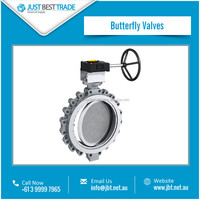 Butterfly Valve for Controlling Liquid Flow
