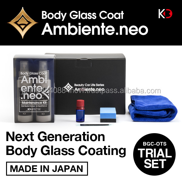 Durable body glass nano hydrophobic car coatings for professional use