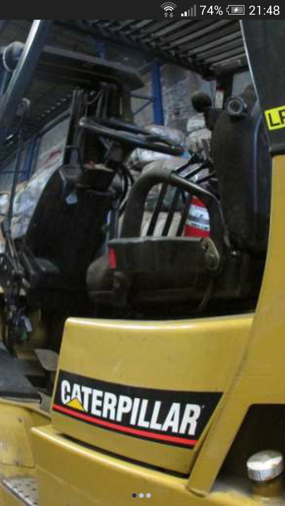 Caterpillar Forklift 6 Tons 2006
