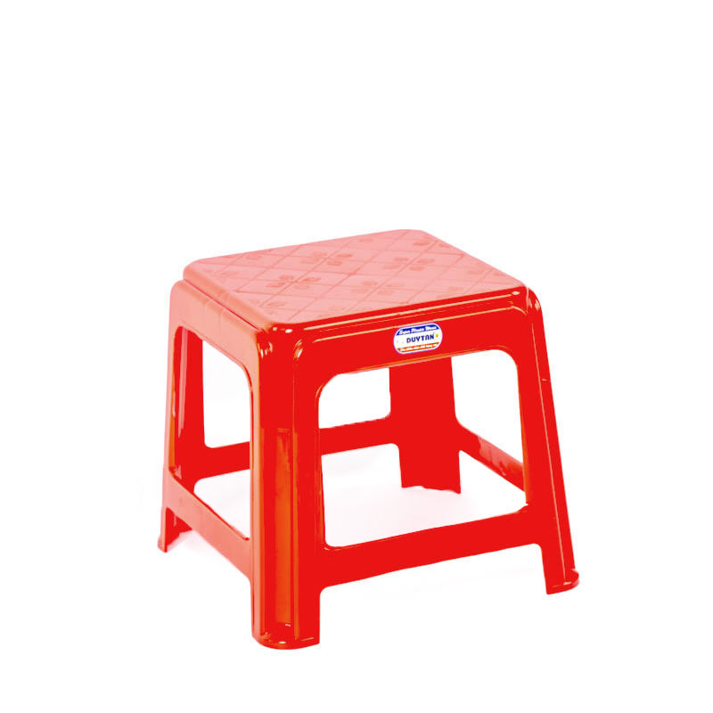 SQUARE SHORT STOOL for baby - Plastic Stool - Plastic Chair - Duy Tan plastics - Email: tangkimvan@duytan.com
