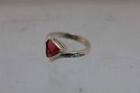Wholesale Ladies Class Ring with Ruby Stone