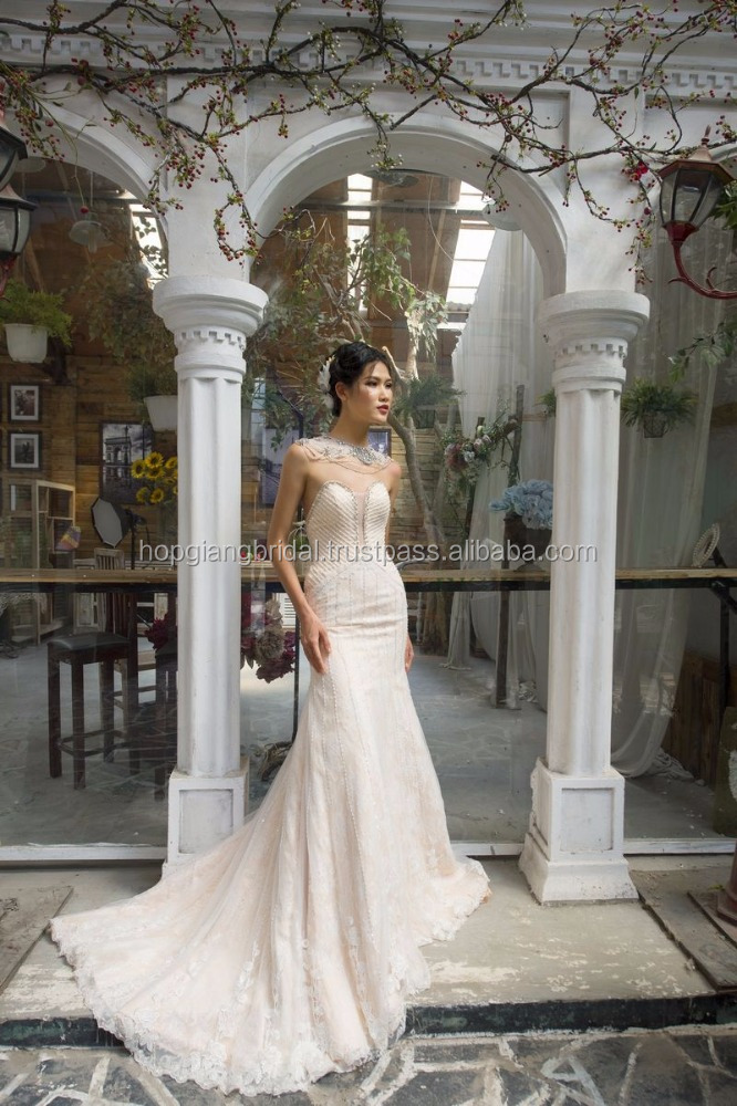 MERMAID LIGHT LINES COUTURE WEDDING DRESS