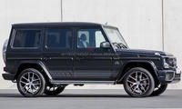 Black G350 G-CLASS Mercedes Benz G55 AMG AMG Edition 463 from Gargash GCC Specs