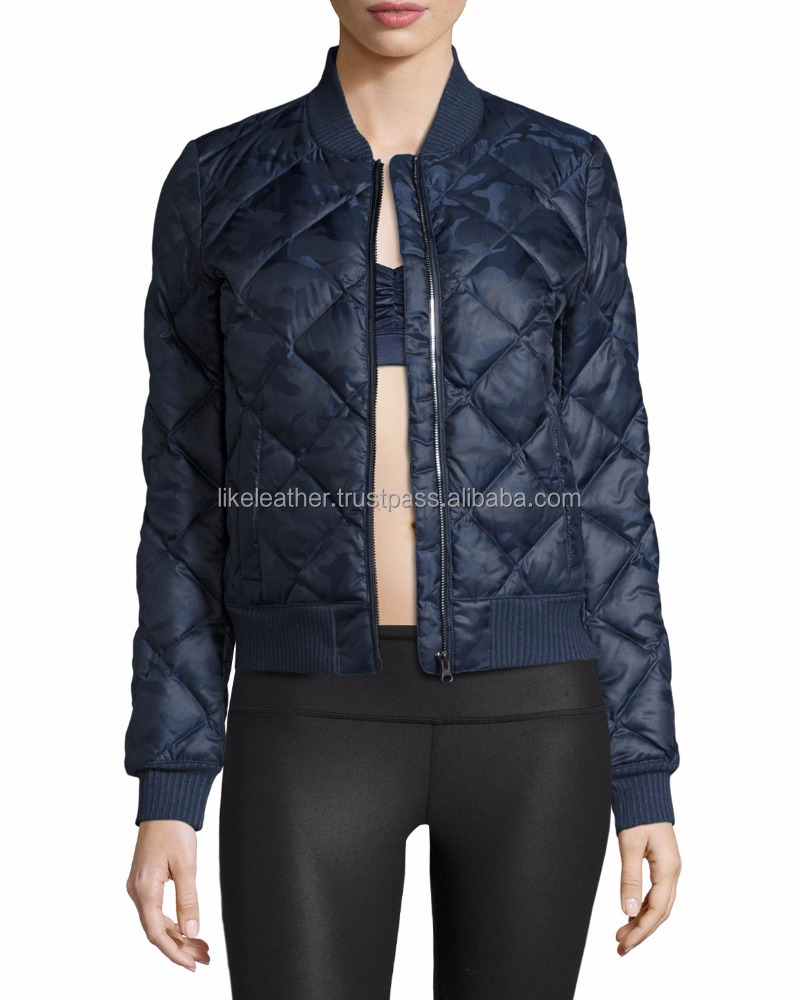 Idol Camo Quilted Active Bomber Jacket/plain bomber jacket/ OEM men Bomber Jackets
