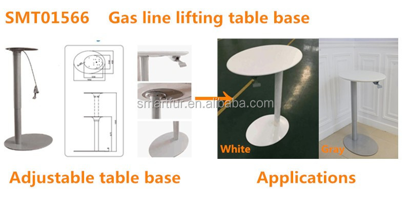 Office/home Gas Lifting Adjustable Height Table