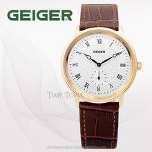 GEIGER Europian Design Dress Watch KOREA Made High Quality
