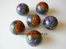 Seven Chakra Layers Orgone Energy Spheres