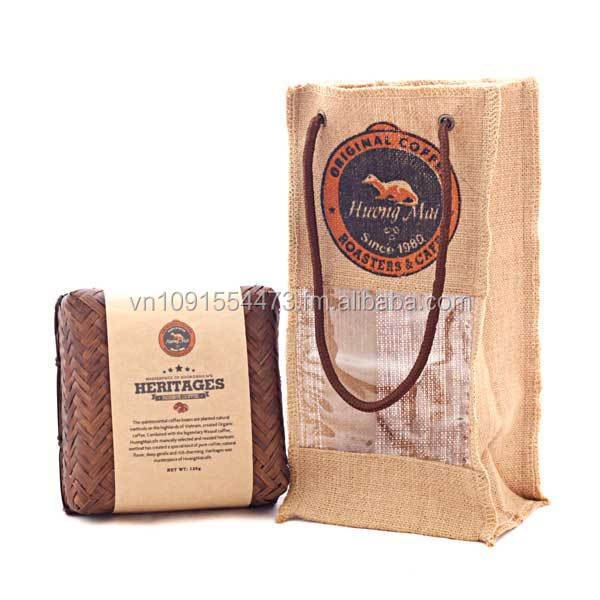 100% Organic Coffee Beans - Vietnamese Coffee - HUONGMAI CAFE Gift Set - Heritages Coffee