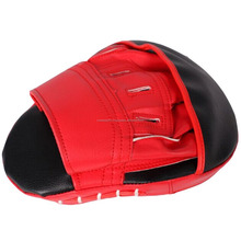 Cheap Price Custom Made Boxing Training Equipment/ Curved Taekwondo Focus Mitt/Kicking / Boxing Gear top quality