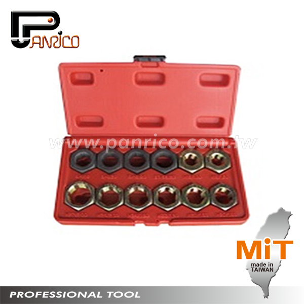 Taiwan Stub Axle Damaged Threads Repair or Renewal Tool 12pcs Axle Spindle Rethreading Set