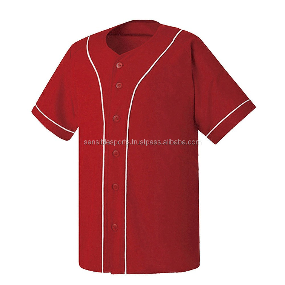 Hot Sale Tackle Twill Baseball Club Jerseys