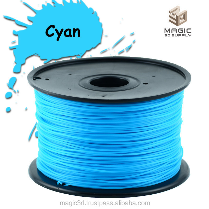 new material Gemany Warehouse 3D filament PLA 1kg 1.75mm/3mm FDM Printer Makerbot